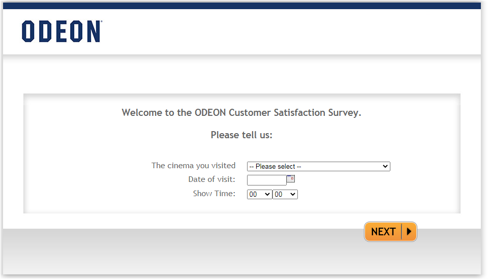 ODEON Guest Satisfaction Survey
