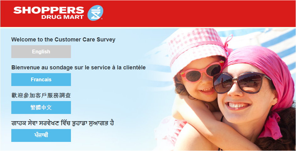 Shoppers Drug Mart Customer Experience Survey